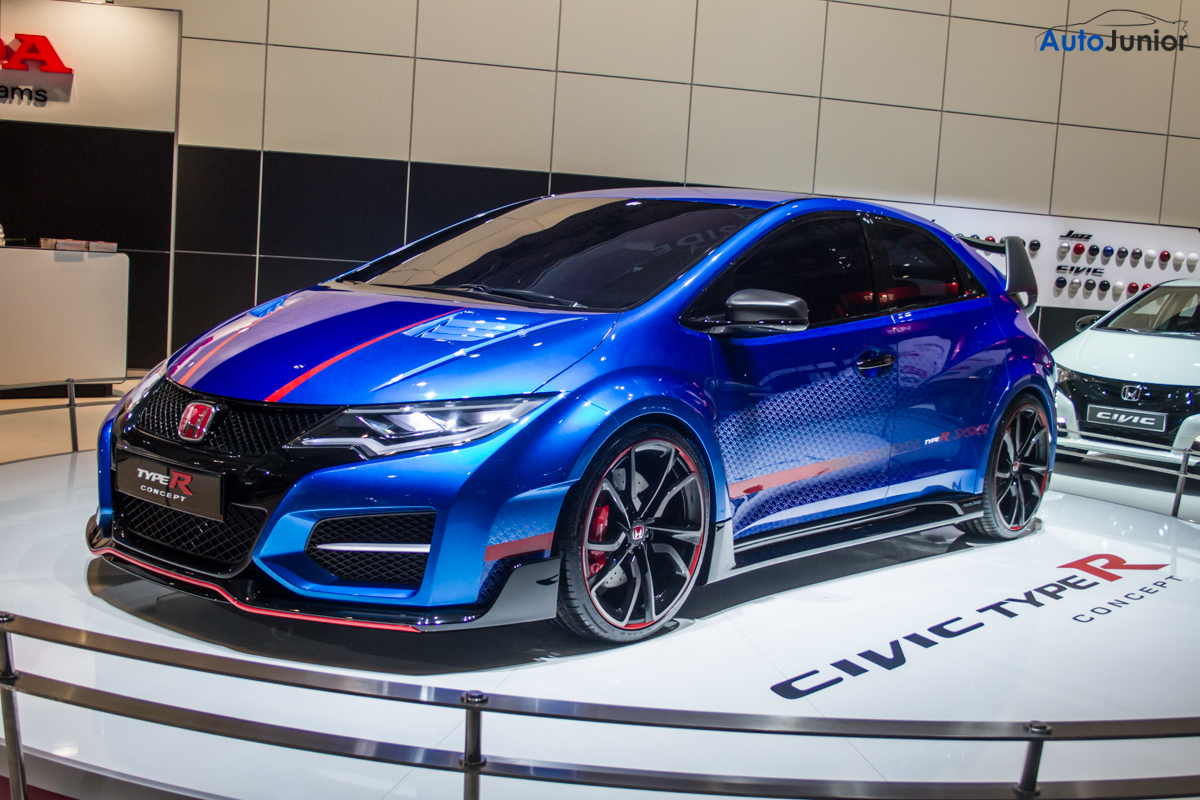 autosalon civic type r 2015