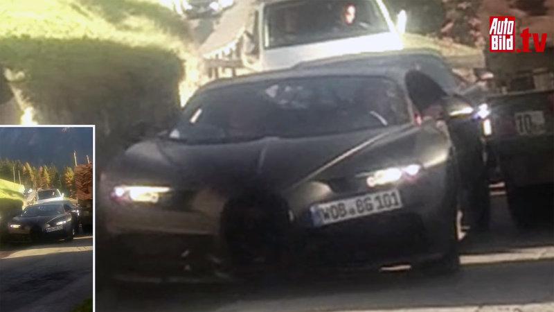 Spyshot 1: Bugatti Chiron