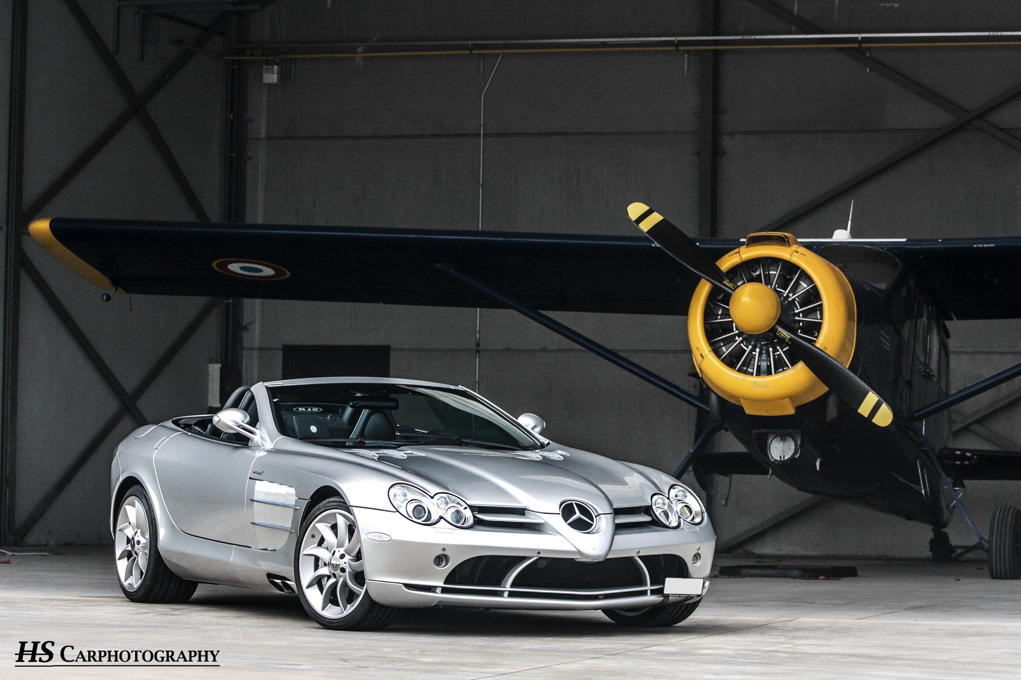 Fotoshoot: Mercedes-benz SLR Mclaren Roadster