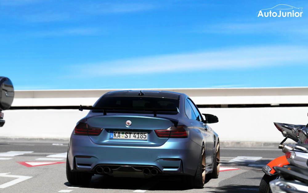 BMW M4 PP performance
