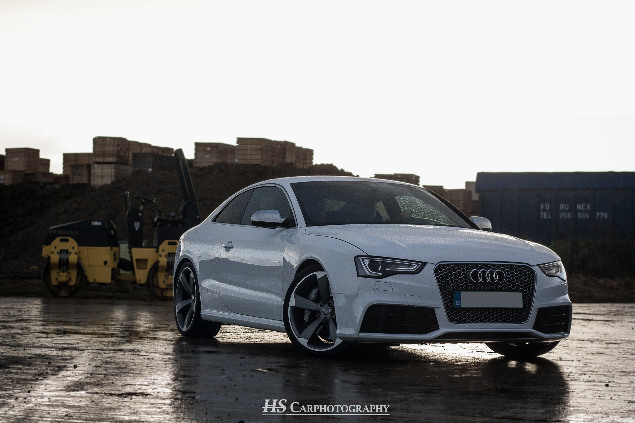 Fotoshoot Audi RS5