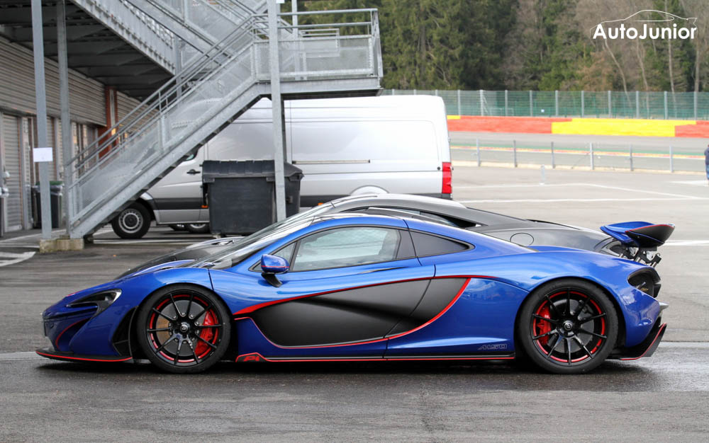Gespot: McLaren P1 by McLaren Special Operations