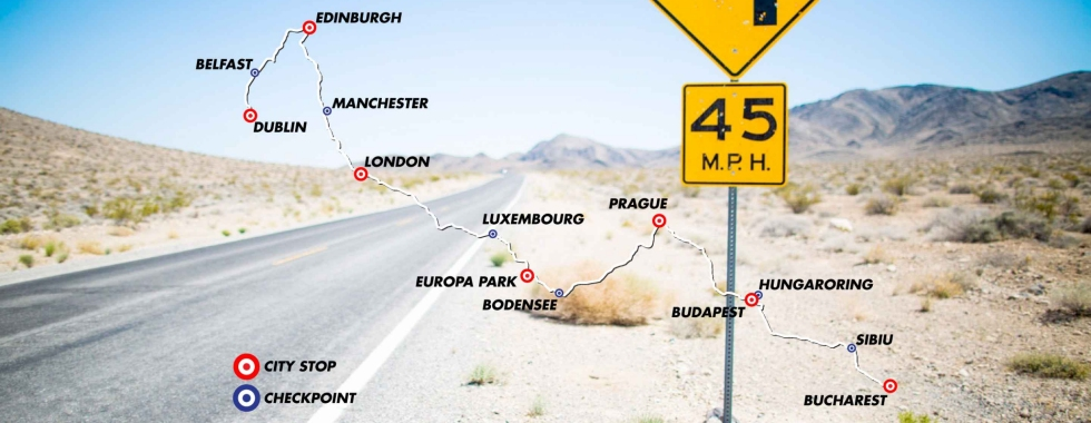 Route Gumball 3000 2016