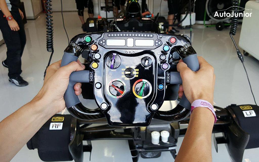 Stuur Force India