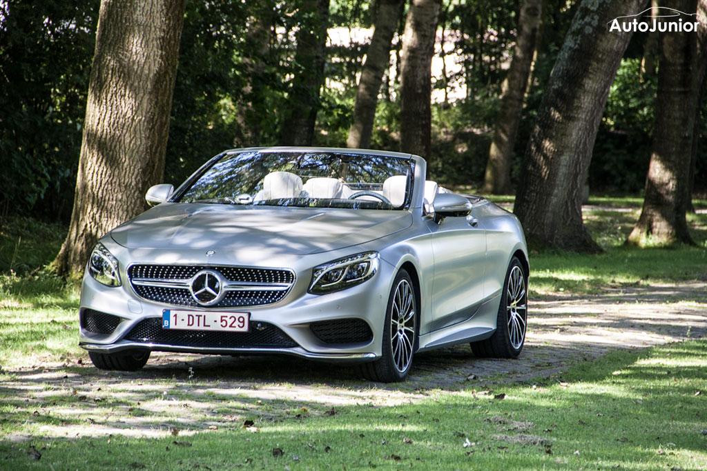 Rijtest: Mercedes-Benz S500 Cabrio