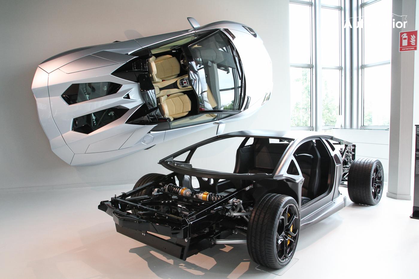 Op bezoek bij Lamborghini in Sant'Agata Bolognese