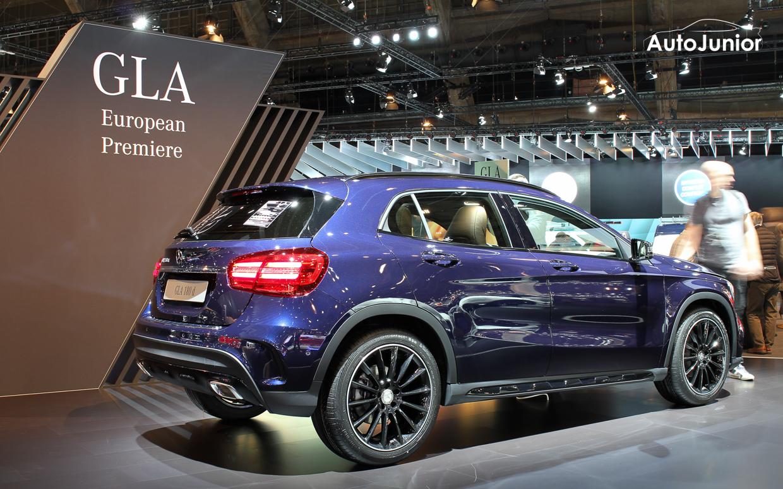 Mercedes GLA Facelift