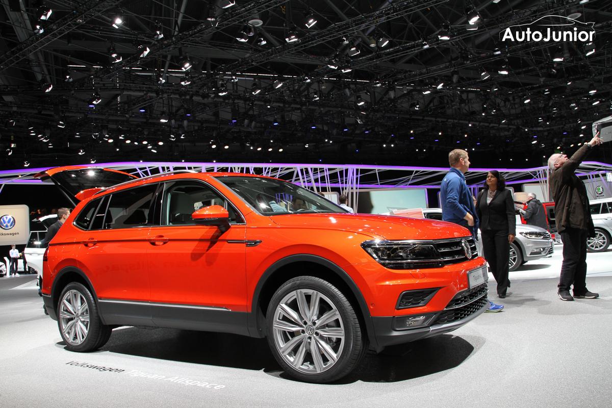 Autosalon Genève: VW Tiguan Allspace