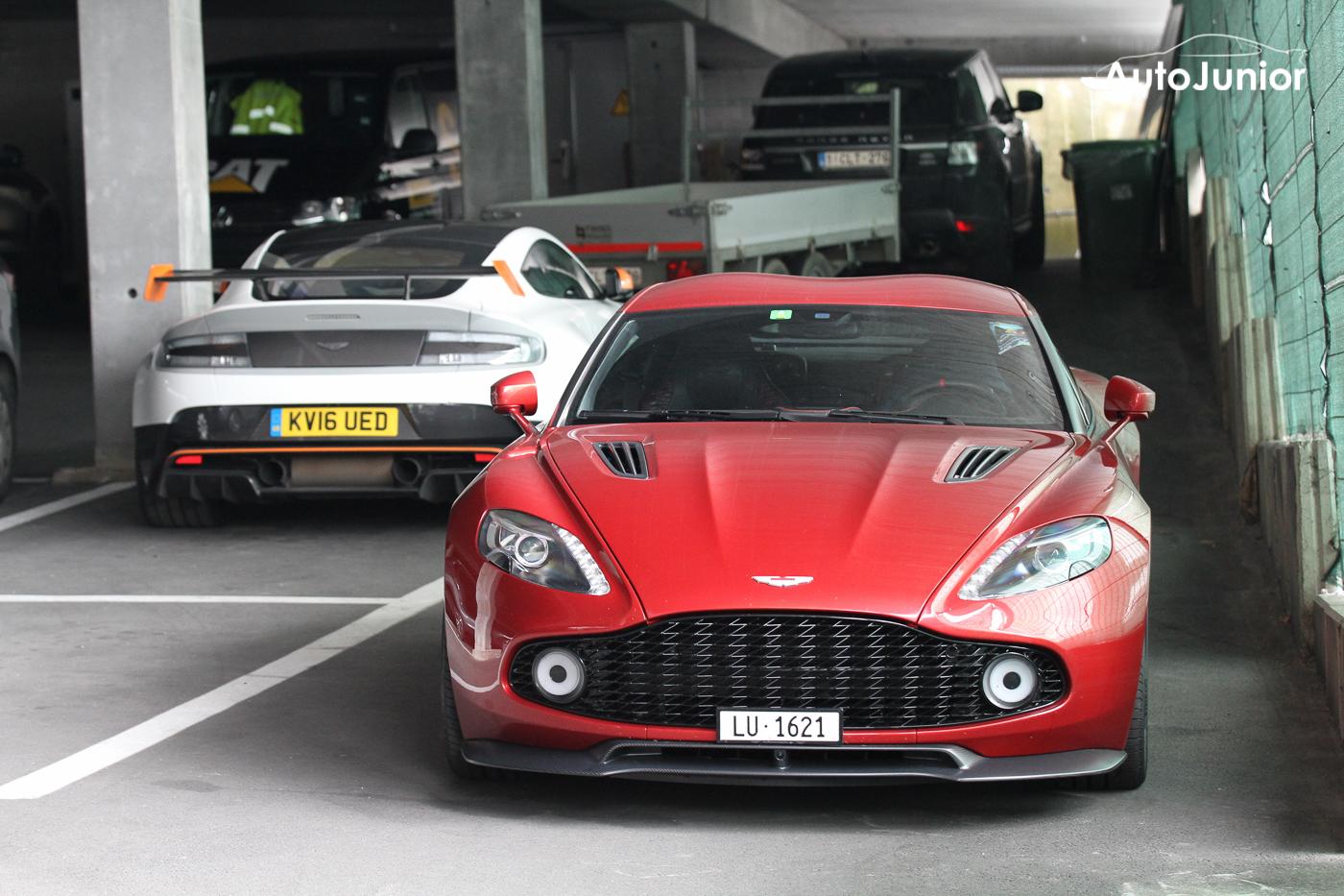 Gespot: Bloedmooie Aston Martin Vanquish Zagato