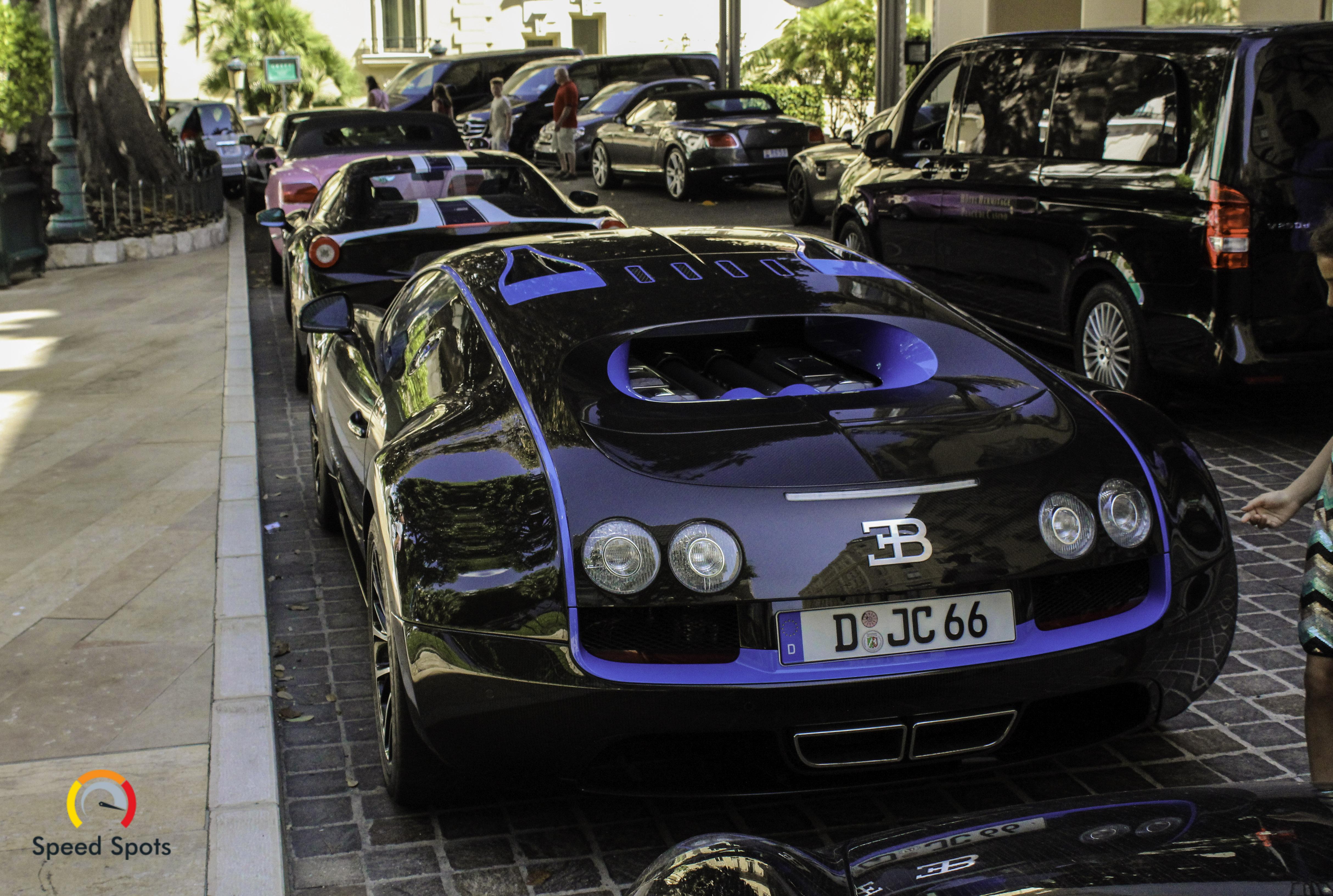 Gespot: One off Bugatti Veyron Super Sport Edition Merveilleux