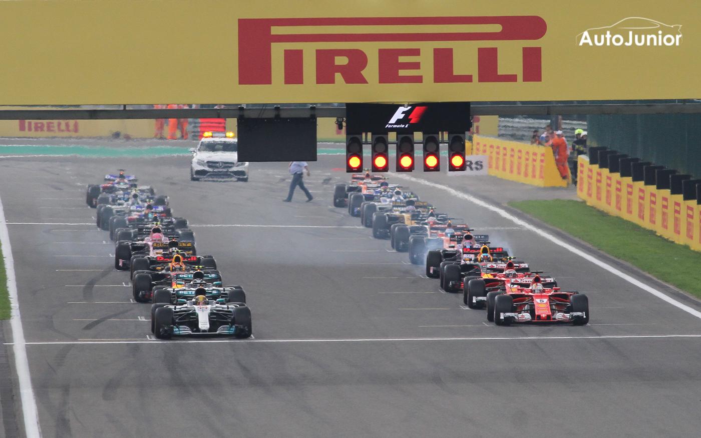 Weekendverslag Formule 1 Belgian Grand Prix