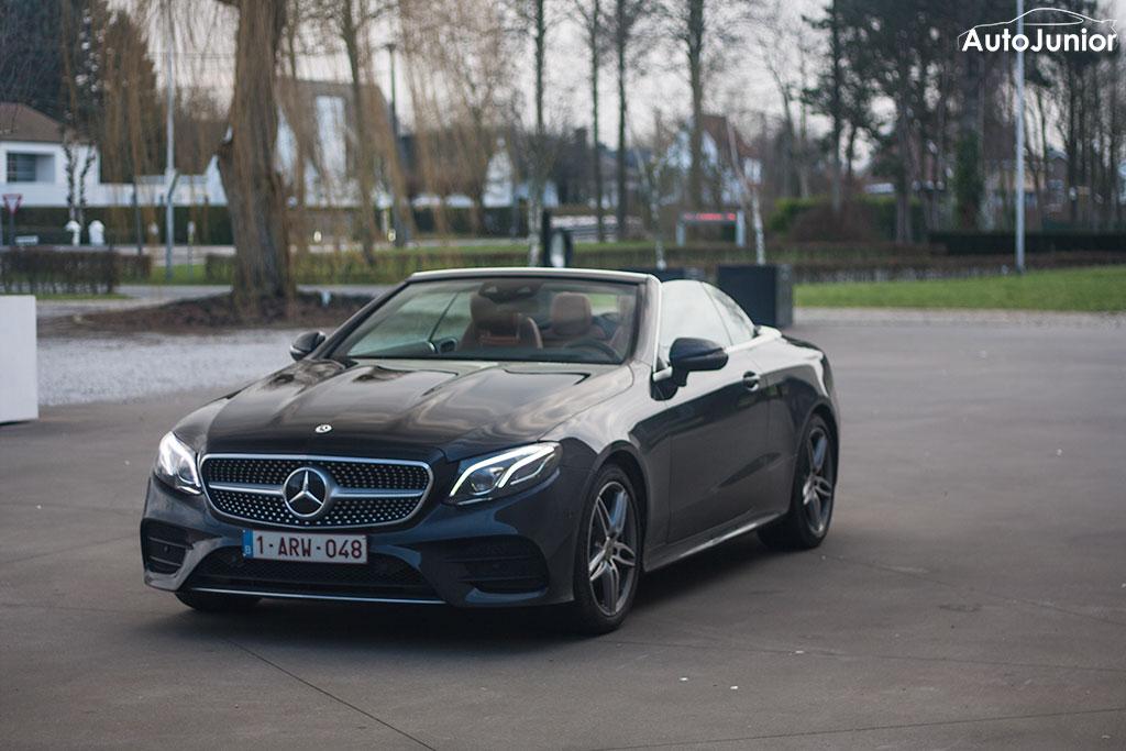 Rijtest: Mercedes-Benz E 200 Cabrio