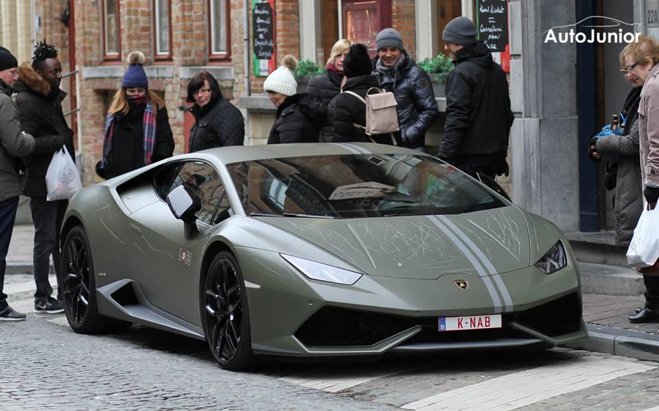 Wat bezielt mensen om een tot 250 stuks gelimiteerde Lamborghini vol te krassen?