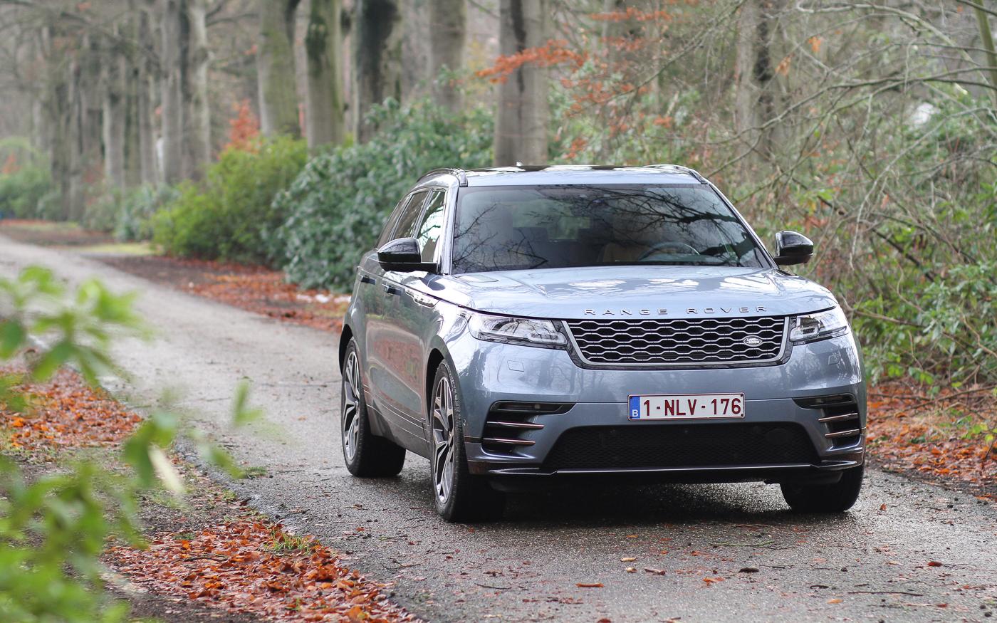 Rijtest Range Rover Velar R-Dynamic D300 HSE