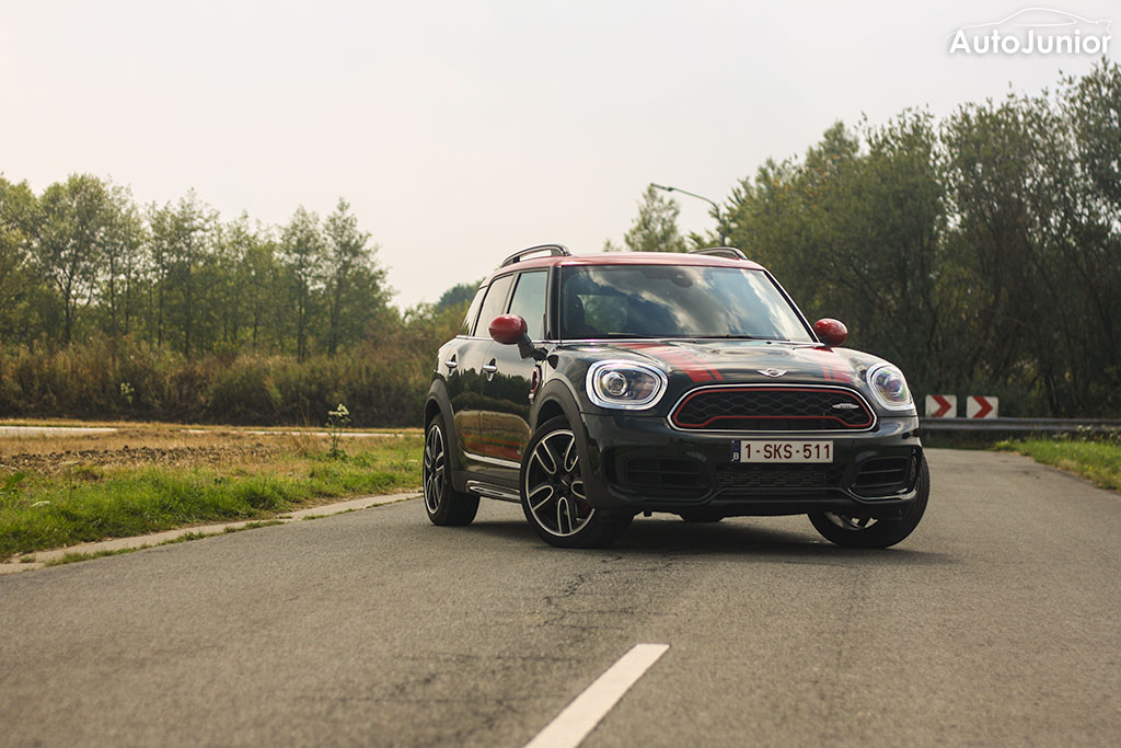 Rijtest: MINI JCW Countryman