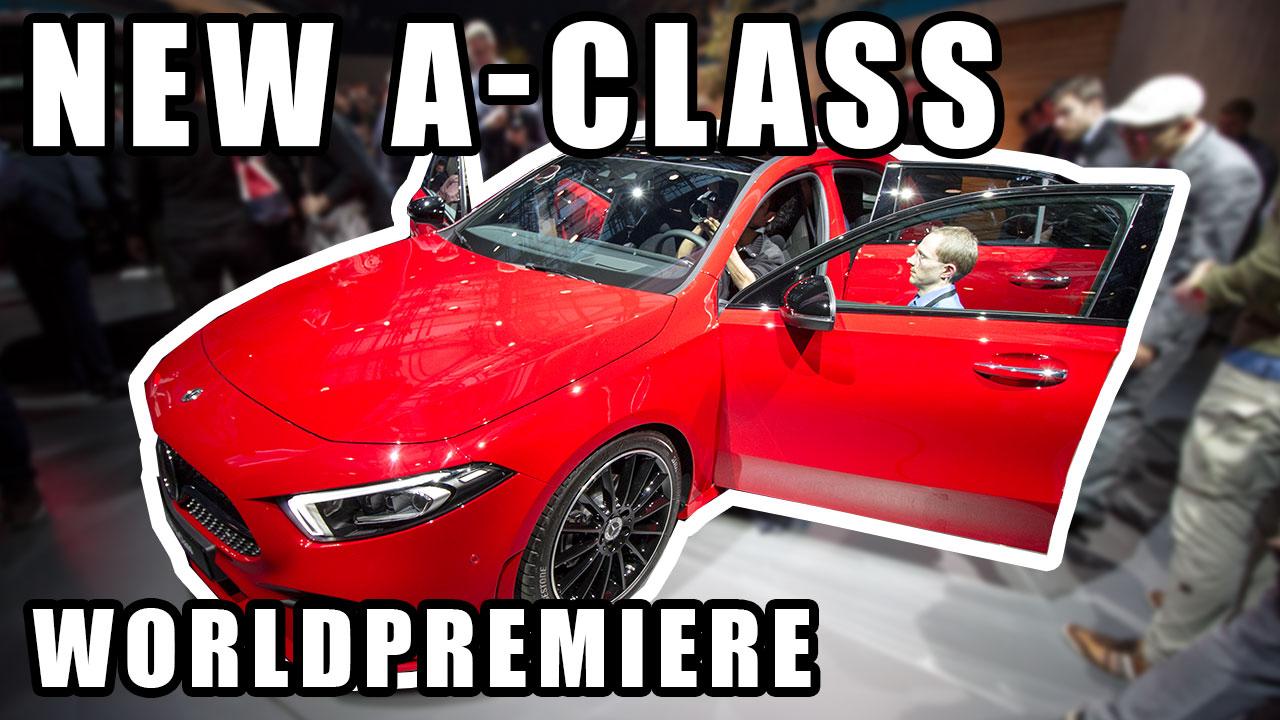 New Mercedes A-Klasse 2018