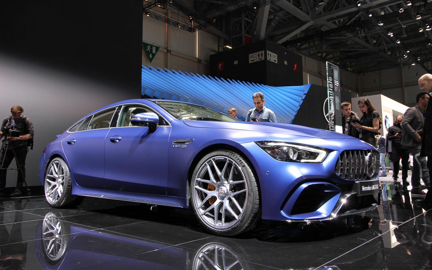 Autosalon Genève: Eindelijk de productieversie van de AMG vierdeurscoupé