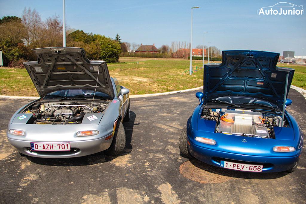 Projectcars: Mazda MX-5 NA plug-in EV