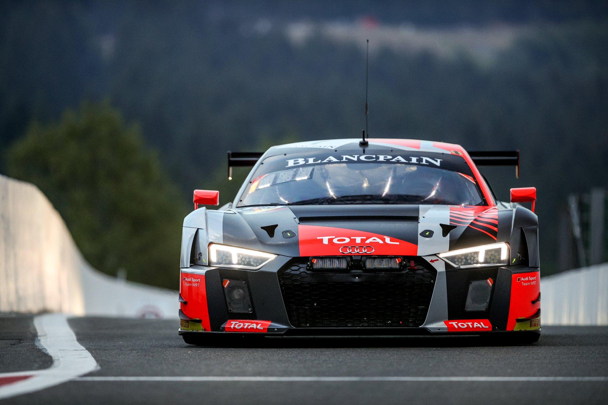 Dries Vanthoor start met Audi vanop pole – 24 uur van Spa