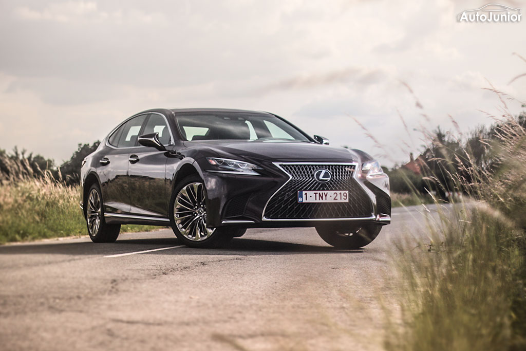 Rijtest: Lexus LS 500h President Line