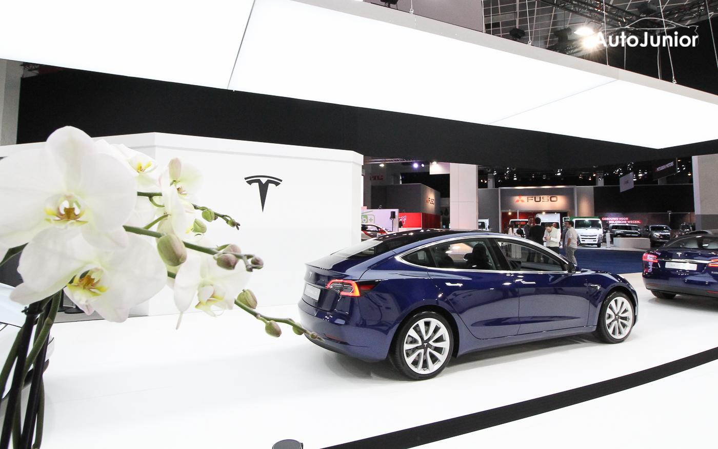 Leveringen Tesla Model 3 voor Europa gestart