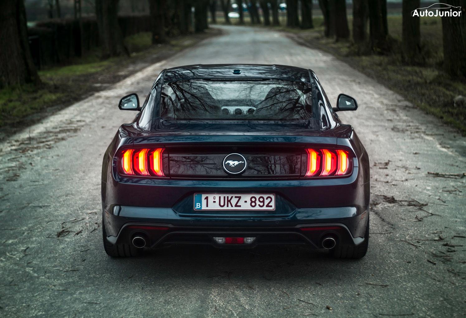 Rijtest: Ford Mustang 2.3i EcoBoost fastback