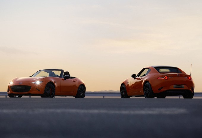 De Mazda MX-5 viert haar 30ste verjaardag met een speciale editie!