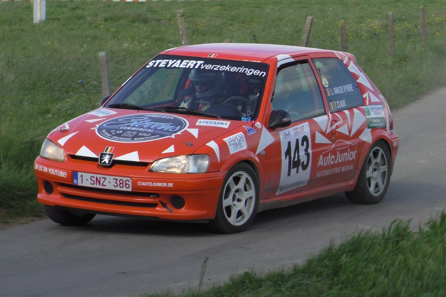 Peugeot 106 Short rally monteberg