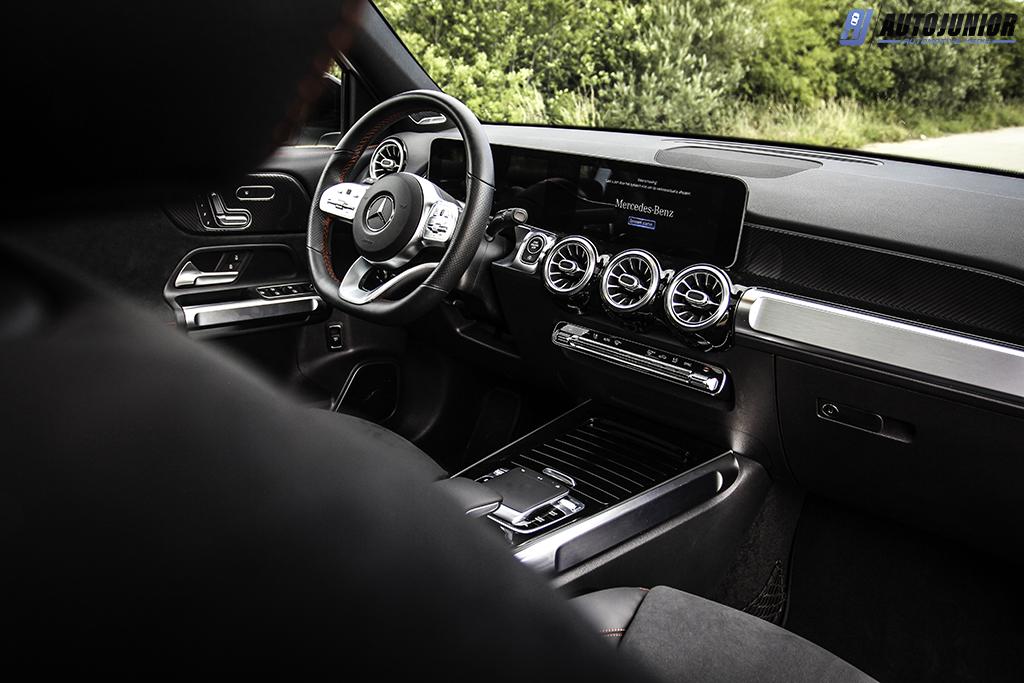 Mercedes-Benz GLB 250 4MATIC interieur