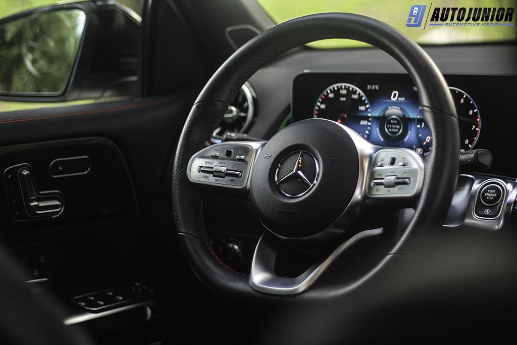Mercedes-Benz GLB 250 4MATIC stuur